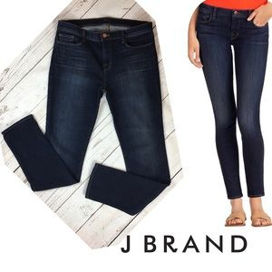 bb9335a39351 J Brand Mid-Rise Skinny In Oblivion Size 32